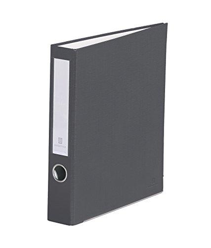 2 Ring 3 Removable Binder (Bindertek 3-Ring 2-Inch Premium Linen Textured Binder, Dark Gray (3SLN-DG))