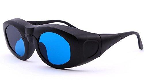 Nadalan Laser Glasses Protection 600-1100nm Wide Spectrum Laser Goggles by Nadalan