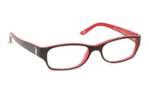 Ralph Lauren RL6058 Eyeglasses-5255 Havana/Red-51mm