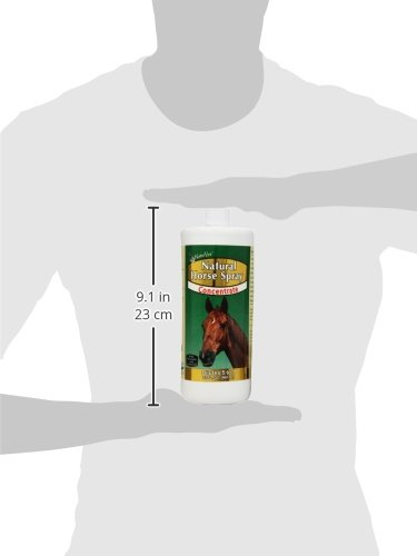 NaturVet Natural Horse Spray with Cedar Oil and Citronella Concentrate for Horses, 32 oz Liquid, Made in the USA by NaturVet (Image #6)