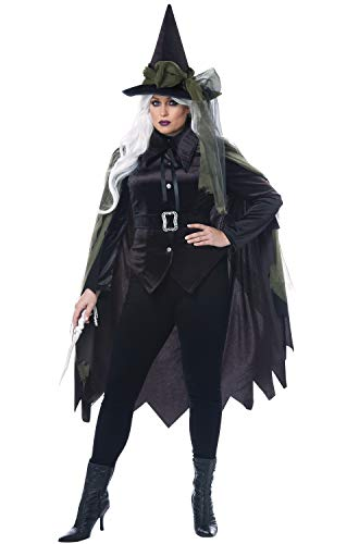 California Costumes Size Gothic Witch-Adult Plus Women