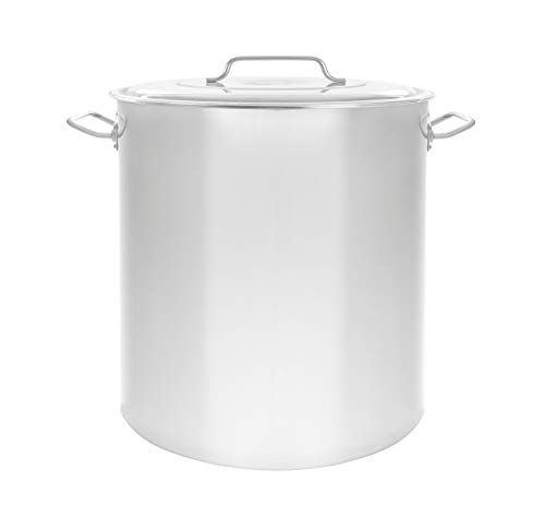 Concord Cookware S4548S Stainless Steel Stock Pot Kettle, 80-Quart