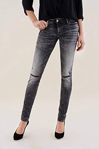 Salsa Push premium skinny wash Jeans Nero Wonder Up FwC6Frq