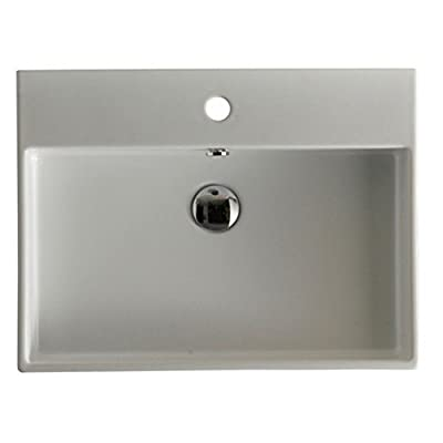 WS Bath Collections Unlimited 60 Wall Mount Bathroom Sink