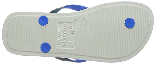 white 8464 Green Mehrfarbig Bicolor Brazil Ipanema Sandalias Dedo Adulto De Unisex Varios Blue Colores Zv4BUO