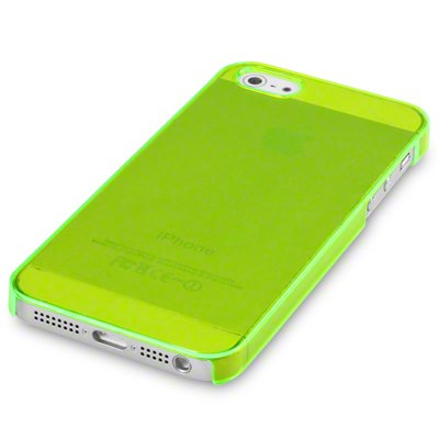 iPhone 5S Slim Fit Snap auf Fall/Cover/Shell/Shield–Grün