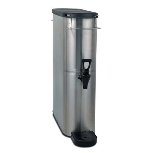 Bunn 39600.0002 Brew Through Narrow Oval Iced Tea Dispenser, 4 gal