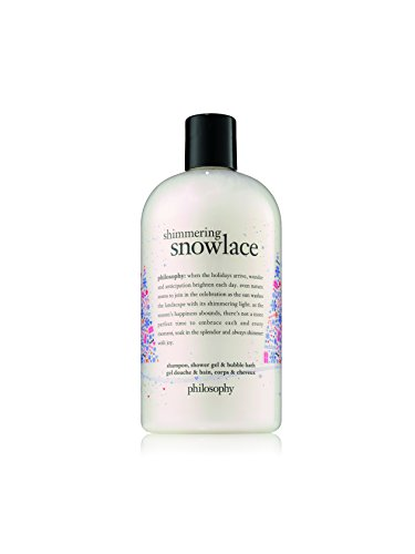 - Philosophy Shimmering Snow Lace Shower Gel, 16 Ounce