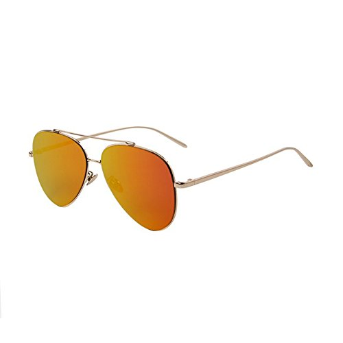Women Sunglasses Men Ultralight Frame Sunglasses Flat Coating Mirror Lens - Rayband Glass