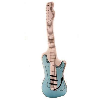 Electric Guitar Throw Pillow 23.6 Inch Length Small Size ...