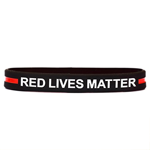 SayitBands One Red Lives Matter with Thin Red Line -
