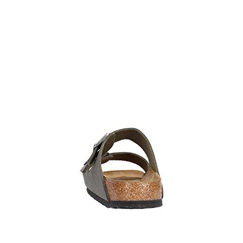 Birkenstock - Sandalias con hebilla unisex Smaragdgrun