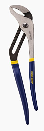 IRWIN Tools VISE-GRIP Groove Joint Pliers, Straight Jaw, 16-Inch (2078516)