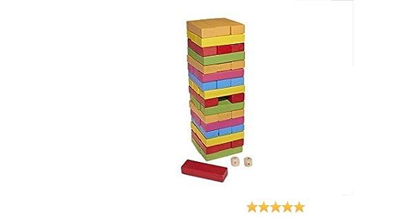 Juguetutto - Yenga Colores - Juguete de Madera: Amazon.es: Hogar