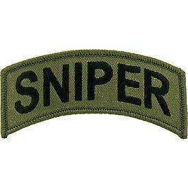 Aufnäher Sniper Patch US Army