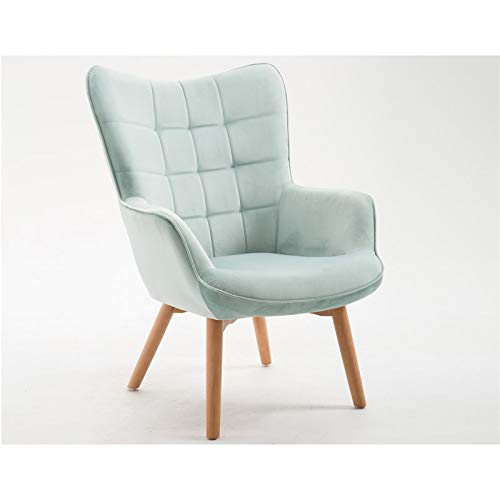 - Emerald Home Furnishings Margo Spa Blue Accent Chair