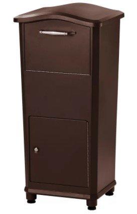 Aluminum Letter Locker Mailbox - 3 Point Lock Aluminum Parcel Locker