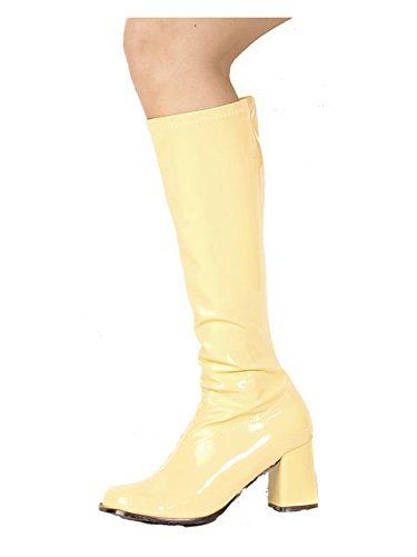 Ellie Shoes Women's Gogo Adult Boots 7 Yellow