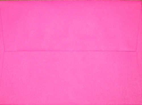 A7 Envelopes - BriteHue Ultra Fuchsia - 5 1/4 x 7 1/4 (pack of 100)