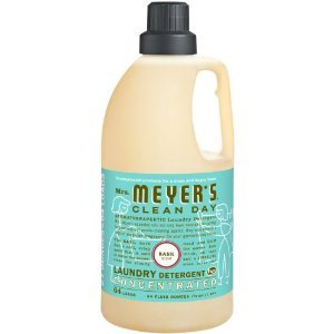 Mrs Meyers Clean Day 2X Basil Laundry Detergent, 64 Ounce - 6 per case.