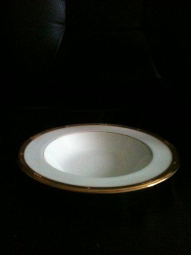 Noritake Chatelaine Gold Rim Soup Bowl