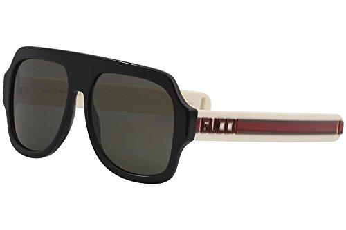 22380b2a3e0c0 Sunglasses Gucci GG 0255 S- 001 BLACK GREY IVORY. related-product. Gucci  0015S Pilot Shape Fashion Sunglasses Size 58mm