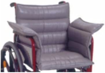Rollstuhlkissen m. Rücken- und Seitenteilen(Novacare), Anti-Dekubitus-Sitzkissen