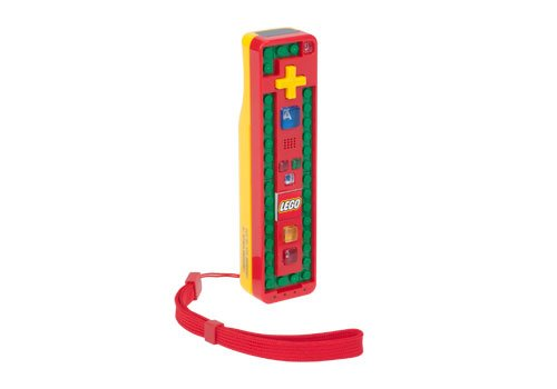 Wii LEGO Play and Build Remote - Red/Yellow