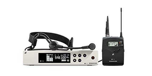 EW 100-ME3 Wireless Cardioid Headset Microphone System - A Band