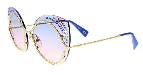 Marc Jacobs Women's Marc161sts Cateye Sunglasses, BLUE PINK, 61 mm
