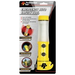 Wilmar Emergency Rescue Tool, Flashlight, Red Alert Light...