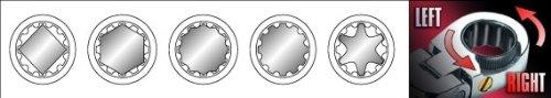 Yato professional ratchet half-moon C spanner reversible 12-15 mm YT-0284