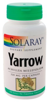 Solaray - Yarrow, 320 mg, 100 capsules