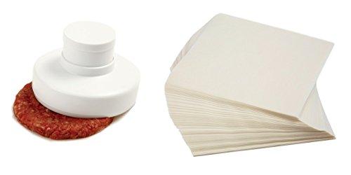 hamburger-press-with-wax-paper-norpro-burger-patty-press-bundled-with-norpro-250-count-square-wax-pa