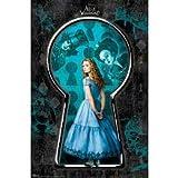Alice in Wonderland Movie (Alice, Keyhole) Poster Print