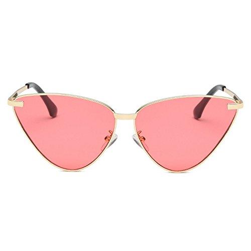 El KLXEB Frauen Spiegel Diseñador C5 Beschichtung Sonnenbrille Marke Metallrahmen Katzenaugen De Modo C1 Matices Weiblich Iqqpwg4