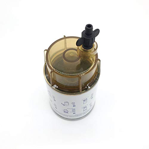 (Replacement S3213 18-7928-1 Fuel Filter Water Separator with Clear Bowl 18-7922 for Marine Yamaha Racor Sierra Mercury)