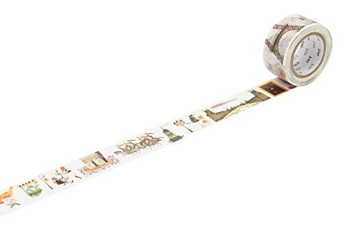 Scrapbooking Eiffel Tower - mt masking tape mt Miroslav Sasek