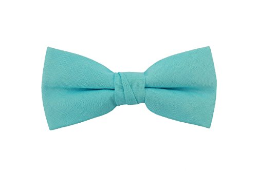 Born to Love Boys, Baby, Toddler Pre Tied Adjustable Bow Tie Solid Linen, Cotton, Polyester, Shinny