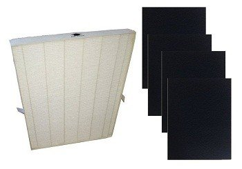 True HEPA Plus 4 Carbon Replacement Filter for Winix 115115 Size 21 by Vacuum Savings