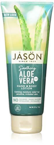 - Jason Pure Natural Aloe Vera 84% Moisturizing Hand & Body Lotion - 8 oz