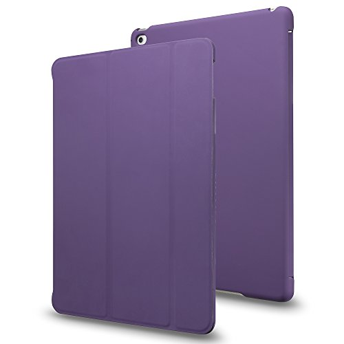 iPad Pro case, INVELLOP Purple [Slim Fit] Case Cover for Apple iPad Pro 9.7 (2016 release) (Fits ONLY 9.7 inch iPad Pro ) (Purple)