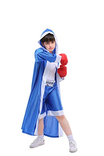 Albabara Children Boxer Halloween Boxing Costume Dress-Up Role Play -