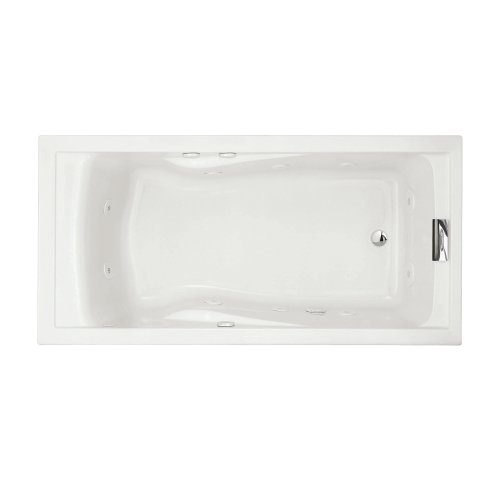 033056681848 - American Standard 7236VC.020 Evolution Deep Soak Whirlpool Bath Tub with EverClean and Hydro Massage System I, White, 6-Feet by 36-Inch carousel main 0