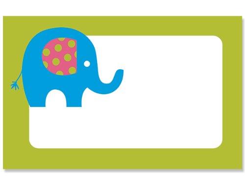 50 pack Elephant March BabyNo Sentiment Enclosure Cards (20 unit, 50 pack per unit.) by NAS