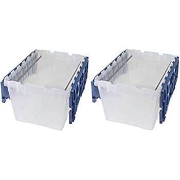 Amazoncom Akro Mils 66486 FILEB 12 Gallon Plastic Storage Hanging