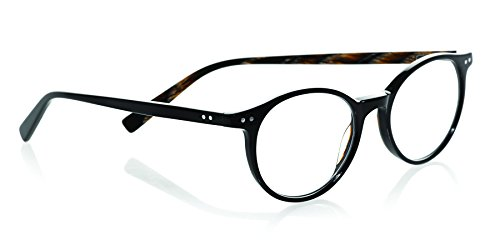 eyebobs Case Closed, Brown Horn, Round Reading Glasses SUPERIOR QUALITY- The best $79 you will ever spend