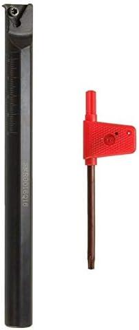 Qualitäts-CNC-Drehmaschine Werkzeug-Zubehör Intern Lathe Threading Bohren Drehen Werkzeughalter mit Schraubenschlüssel 16x180mm SNR0016Q16