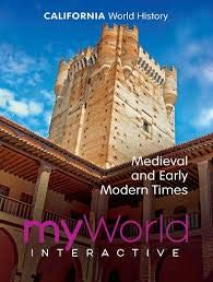 Pearson myWorld Interactive CA World History Medieval and Early Modern Times (World History Medieval And Early Modern Times Textbook)