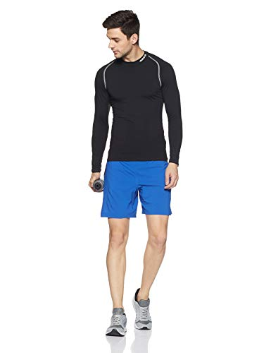 Under Armour Men's Launch 2-in-1 Shorts,Lapis Blue (984)/Reflective, Large by Under Armour (Image #5)